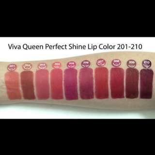 Lipstick viva queen perfect shine (glossy)