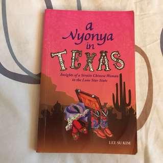 A Nyonya in Texas by Lee Su Kim