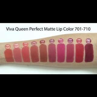 Lipstick viva queen perfect matte