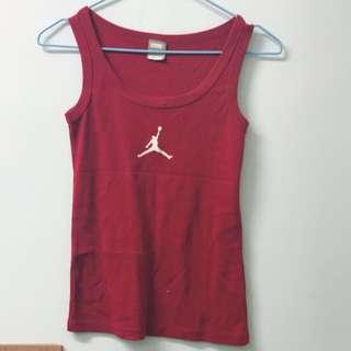 Nike紅色背心