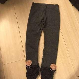 韓制🇰🇷厚身深灰色leggings 80% 🆕