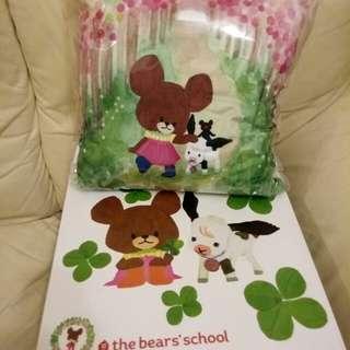 The bears' school CUSHION