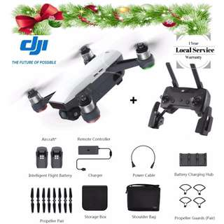 [Xmas Special] DJI Spark Fly More Combo New