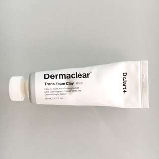 Dr Jart+ Dermaclear Trans-Foam Clay Mask White