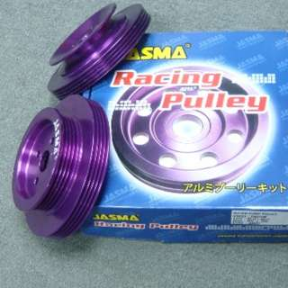 JASMA®  4G15/4G13 water pulley  4PK + V-belt model 29037