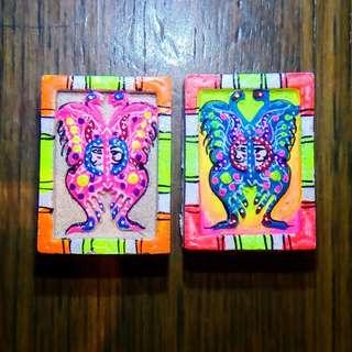 Kruba Krissana Mini Thep Jamleng Butterfly
