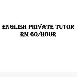 English Private Tutor