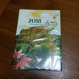 🚚 2018筆記日曆