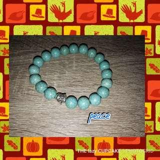 Peace and calm bracelet