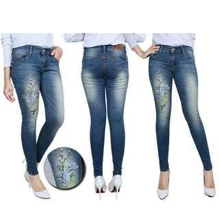 Jeans bordir 011