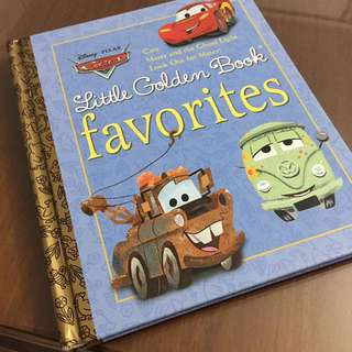 Golden books ~ Disney Pixar Cars