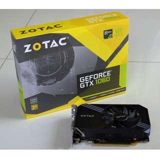 Zotac GTX 1060 3GB *Mint Condition* GeForce Nvidia Graphics Card