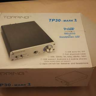 Topping TP30-Mark 2 headphone amplifier