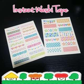 Washi Tape Sticker