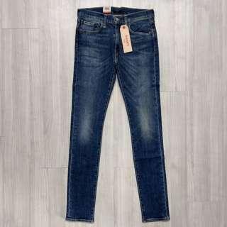 Levis Levi's 24875-0003 W32L34 全新合身窄版刷色牛仔褲 519 522 523