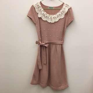 Angel毛線洋裝