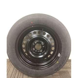Spare Unused 15 inch 4 x 100 PCD Toyo Tire