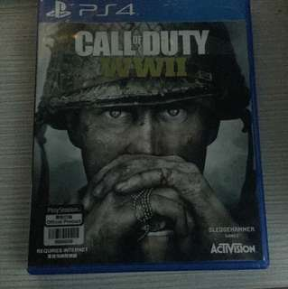 Call Of Duty WW2 Playstation 4/PS4