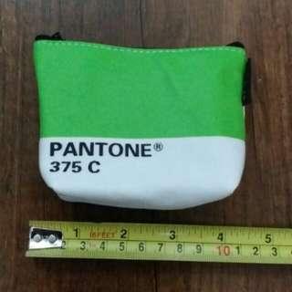 帆布 散紙包 錢包 coins bag Pantone 375C