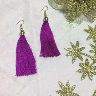 Manila earrings in Ultra Violet