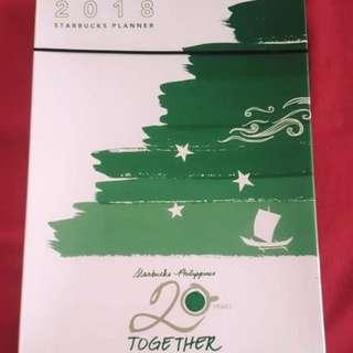 Planner 2018 - Starbucks