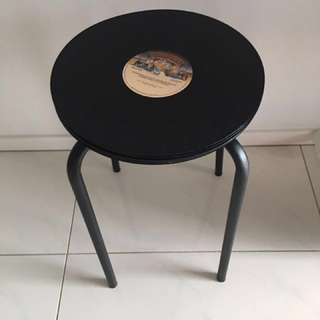 RECORD SIDE TABLE NEW