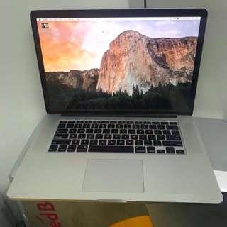 """i7 Retina MacBook Pro 15"""""""