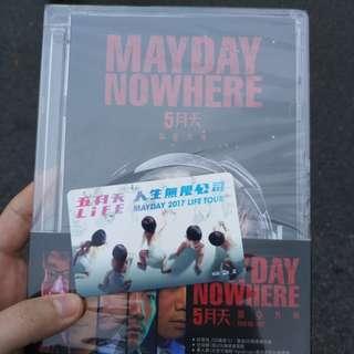 Mayday concert VIP goodies