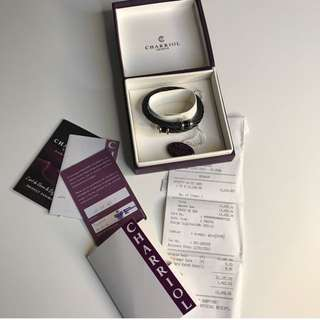 PRELOVED CHARRIOL Bracelet WITH RECEIPT COMPLETE PACKAGING!