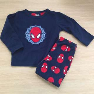 Spiderman Fleece Pyjama Set