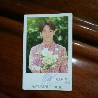 EXO Chen Natural Republic Postcard(Free postage)