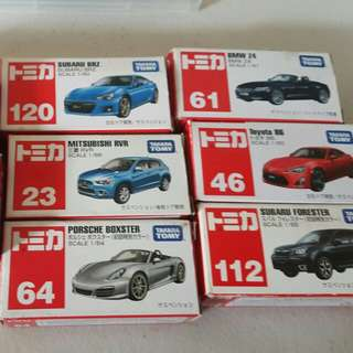 Tomica Sale P200 each