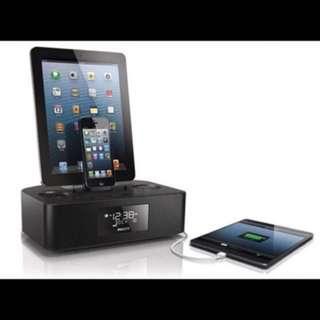 PHILIPS AJ7260D Docking Radio Speaker for APPLE iPhone iPad Lightning 30pin NEW 全新底座收音機喇叭