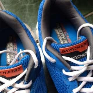 Skechers Memory Foam - Royal Blue