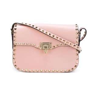 Valentino rockstud pink bag