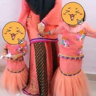 Baju krg moden Saree