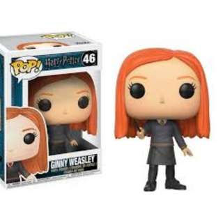Funko Pop Ginny Weasley Harry Potter with wand