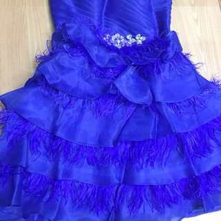 Prewed Dress/Prewed Gown/Evening Dress/Evening Gown/Birthday Dress Royal Blue