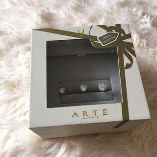 Arte ring 雙連介指 全新連盒