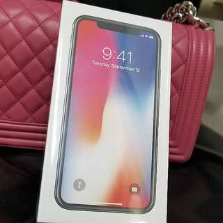 Iphone X Black 黑色 256GB
