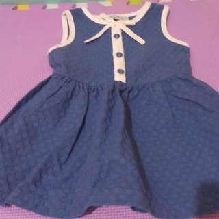 Gingersnaps blue dress