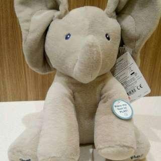 Gund Baby Animated Fluppy  The Elephant Plush Toy
