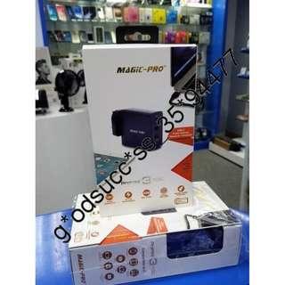 Magic Pro ProMini 3TQC 旅行充電器 快速充電 支援 Type-C USB-PD 2.0