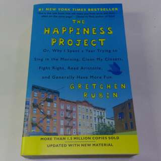 Brand new copy of The Happiness Project by Gretchen Rubin