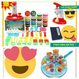 Ice cream maker clay toy - COD