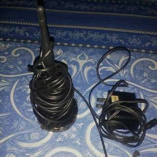 Antenna and adapter (tv plus)