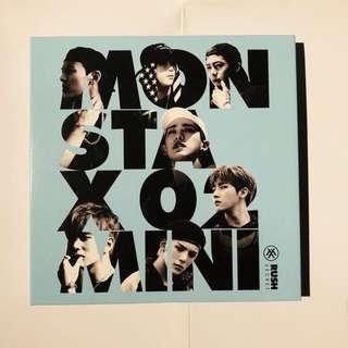 Monsta X Mini Album Vol. 2 - Rush (Secret Version)