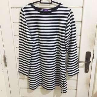 Stripe long shirt Geela