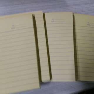 1/4 yellow pad