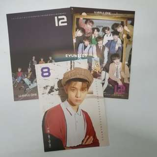 [WTT/WTS] Wanna One Nothing Without You calendar cards